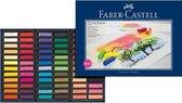 Pastelkrijt Faber Castell halve lengte etui � 72 stuks