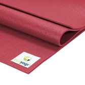 Ecoyogi Studio Yoga Mat Rood - 200 cm - extra lang