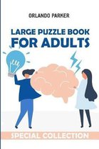 Large Puzzle Book for Adults