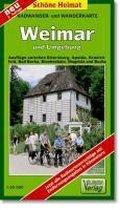 Weimar, Bad Berka und Umgebung 1 : 35 000. Radwander-und Wanderkarte
