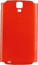 Let op type!! Original Battery Back Cover for Galaxy S4 Active / i537(Red)