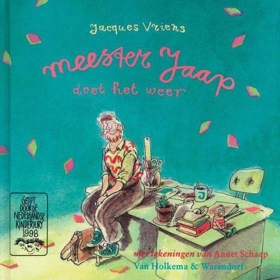 Cover van het boek 'Meester Jaap doet het weer'