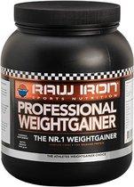 RAW IRON® Weightgainer-1kg-banaan