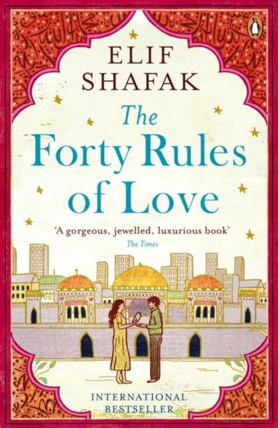Boek cover The Forty Rules of Love van Elif Shafak (Paperback)