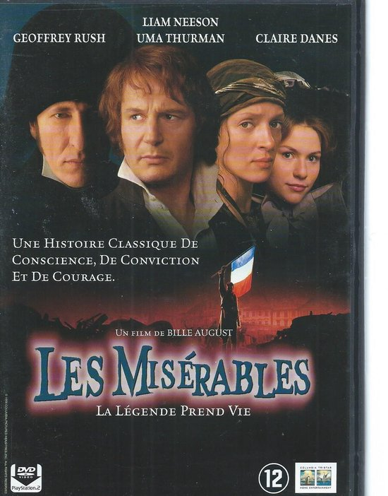 Cover van de film 'Les Miserables'