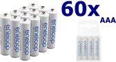 60 Stuks - AAA R3 Panasonic Eneloop Oplaadbare Batterijen
