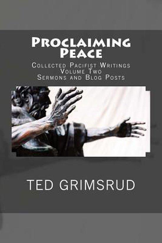 Proclaiming Peace