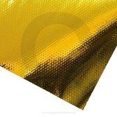 Zelfklevende mat 500 x 500 mm goud