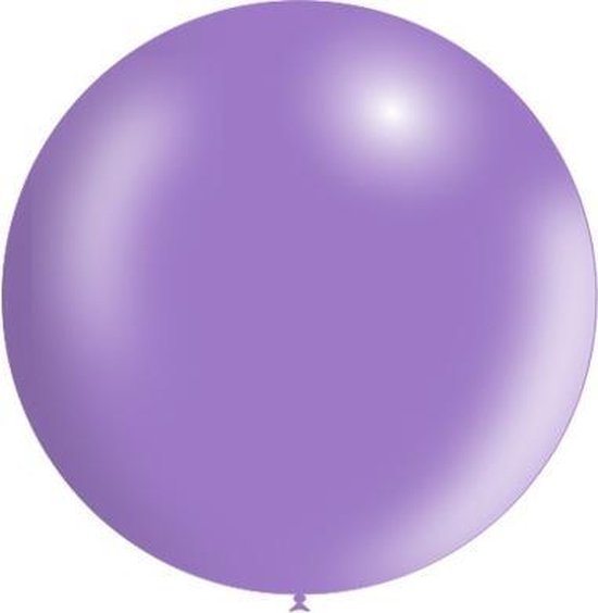Lila Reuze Ballon Metallic 60cm