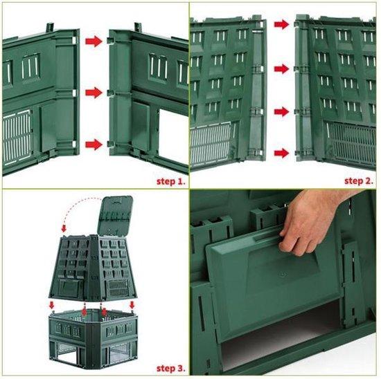 Compostvat Evogreen 850L GROEN Prosperplast - Prosperplast