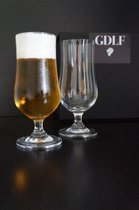 GDLF Bierglazen Cadeauset - Kristal - 340 ml - 2 stuks