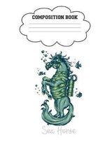 Sea Horse Composition Book