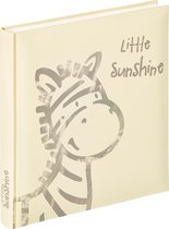Walther Design UK-150 Baby Album Little Sunshine - 28 x 30 cm - Crème/Grijs - 50 pagina's