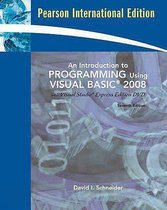 An Introduction To Programming Using Visual Basic 2008