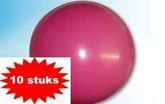 Ballonnen fuchsia (Ø61cm, 10st)