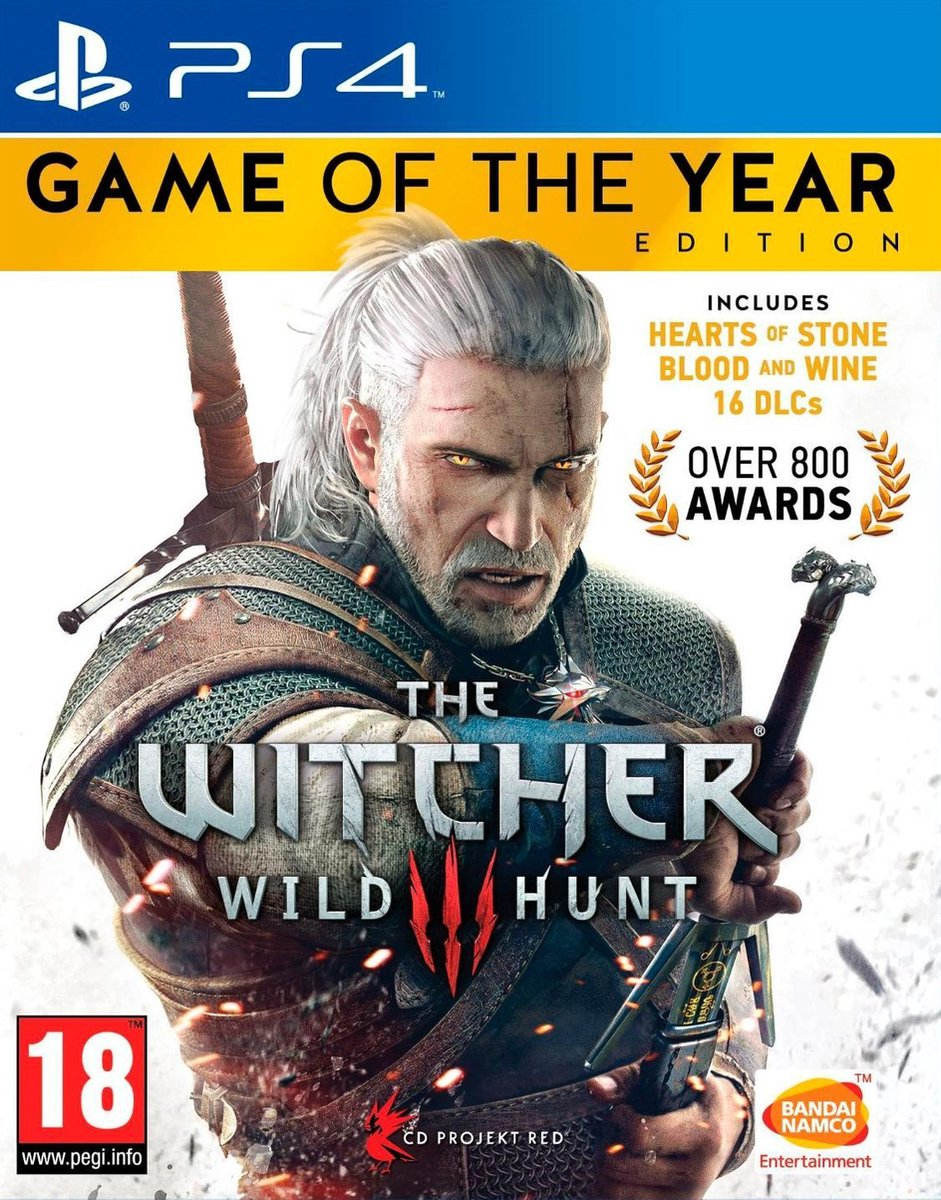 The Witcher 3: Wild Hunt - Game of The Year Edition - PS4 - CD Projekt RED