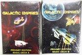 Star wars Trading Card Game Family - Galactic Empires Primary Edition Basic Decks A & B - 2 Decks inbegrepen