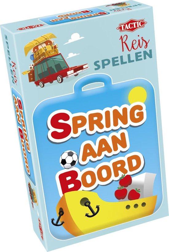 Afbeelding van het spel Spring aan Boord - Reisspel