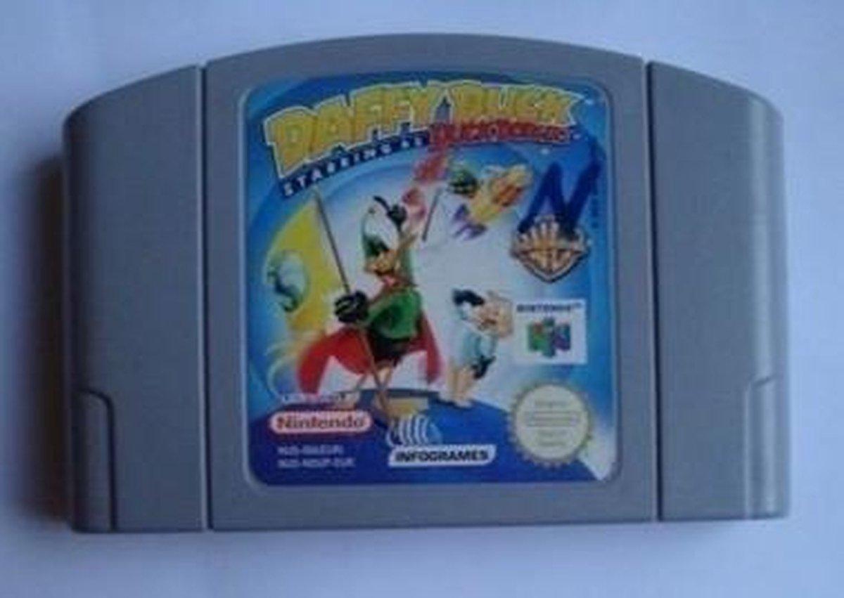 Daffy Duck starring as Duck Dodgers - Nintendo 64 [N64] Game PAL - Nintendo