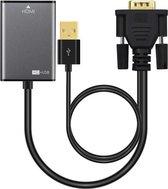 Microconnect VGAHDMI VGA kabel 0,15 m VGA (D-Sub) Zwart