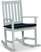 Lanterfant® Schommelstoel Noor – Met zitkussen - Voor binnen en buiten - Vintage White