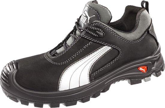bol.com | Puma werkschoenen s3 64072 laag zwart maat 42