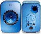 KEF LSX Wireless Stereo Speakers - Blauw ( prijs per set )