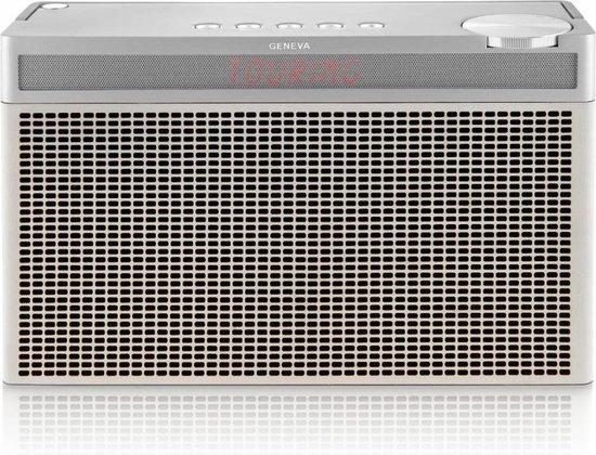 Geneva Hifi-Sound Touring L - Draagbare Speaker - Dab+ Radio - Wit