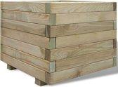 vidaXL Plantenbak vierkant 50x50x40 cm FSC hout