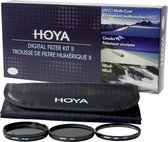 Hoya Digital Filter Kit II 77mm - UV, Polarisatie en NDX8 filter