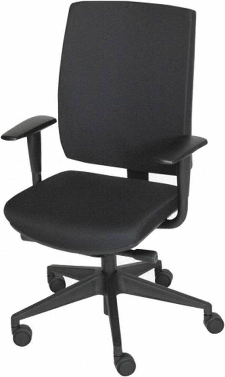 Schaffenburg 350 | Ergonomische bureaustoel voor volwassenen | Zitting en rug stof | Zwart