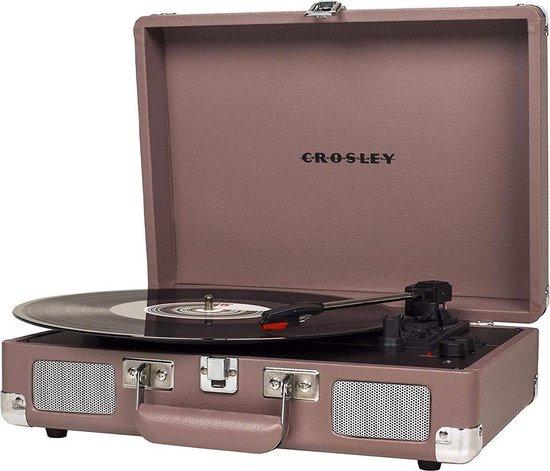 Crosley Cruiser Deluxe Platenspeler Purple Ash