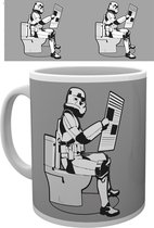 Star Wars Original Stormtrooper Storm Pooper Mok
