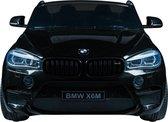 Elektrische Kinderauto BMW X6M Zwart 12V Met Afstandsbediening 2 Persoons Auto