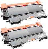Toner cartridge / Alternatief  Promo Pakket Brother 2 x Toner TN-2220/TN-2210/TN-2010 | Brother DCP-7055/ DCP-7055W/ DCP-7057E/ DCP-7060D/ DCP-7065DN/