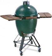 Big Green Egg Houtskoolbarbecue - Large - met Onderstel en Zijtafels