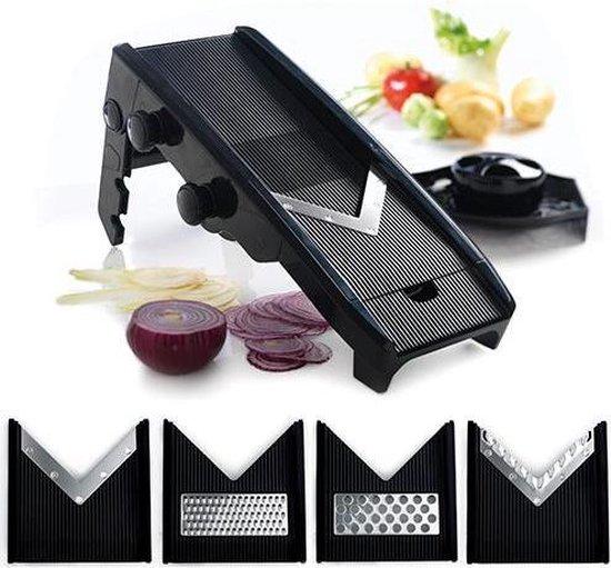 Mastrad Mandoliene V-Blade - Zwart