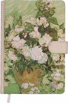 D1373-2 Dreamnotes notitieboek Van Gogh 19 x 13 cm groen