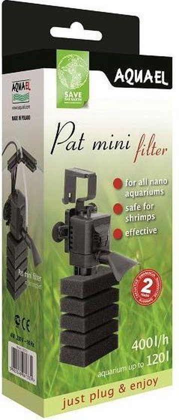 Aquael pat mini - aquarium binnen filter