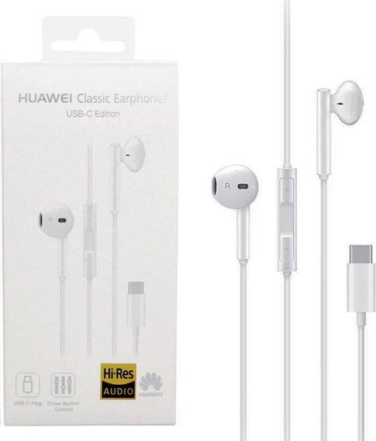 Afbeelding van Huawei -In-ear headset - Wit - Type-C