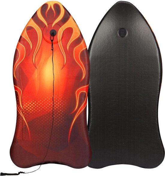 Waimea Bodyboard - Ergo Shape II - Rood/Oranje/Zwart