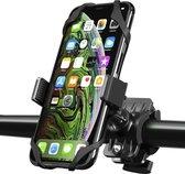 Kreezi XR12 PRO Mobiele telefoonhouder fiets tot 6.5 inch - Zwart - GSM - Fietshouder