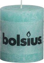 Bolsius Rustiekkaarsen 80x68 mm zeeblauw