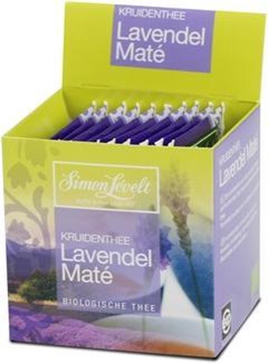 Simon Lévelt Lavendel Maté - 6x10 theezakjes