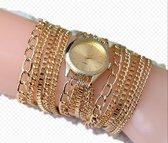 """Geneva Dameshorloge """"Ibiza"""" met elegante armband."""