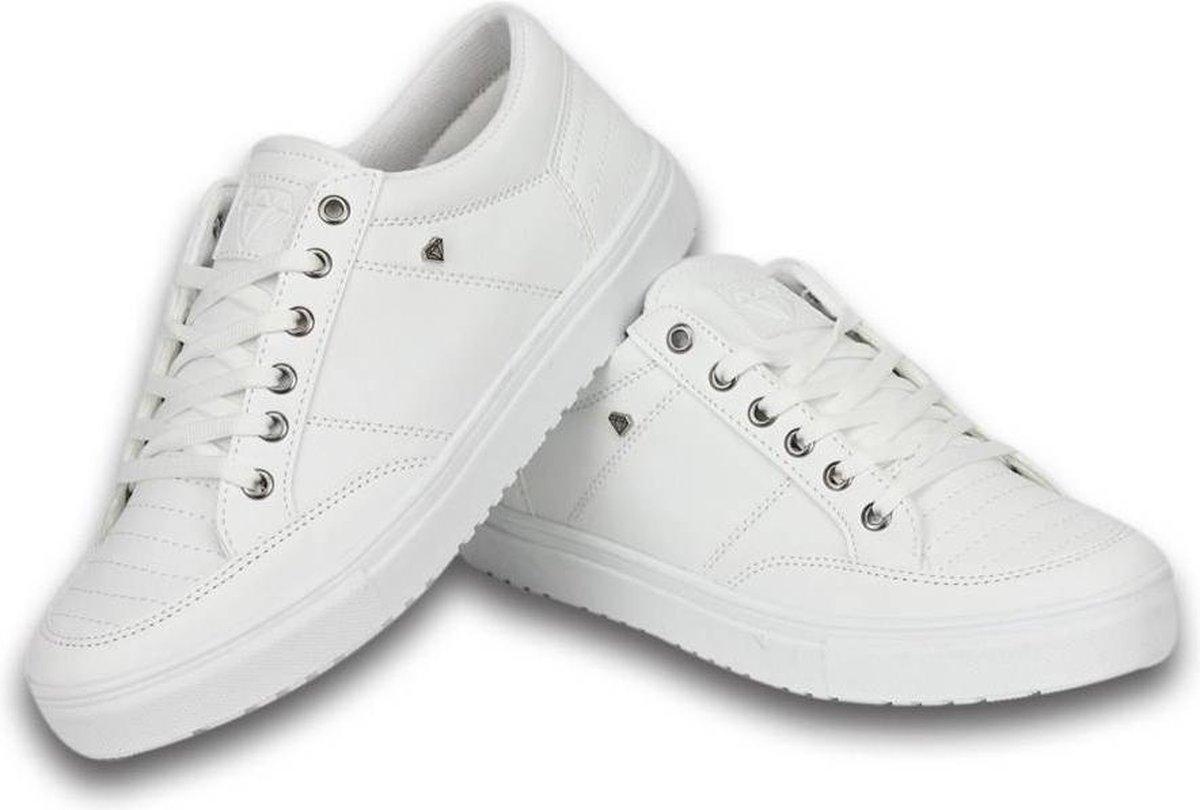 Cash Money Heren Schoenen - Heren Sneaker Low - Wit - Maten: 40
