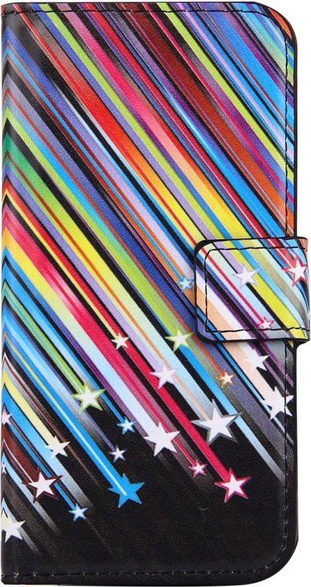 Mobigear Wallet Book Case Meteor Shower iPhone 7 / 8