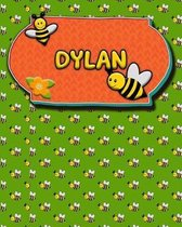 Handwriting Practice 120 Page Honey Bee Book Dylan