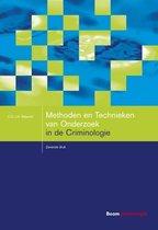 Studieboeken Criminologie & Veiligheid - Methoden en technieken van onderzoek in de criminologie