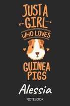 Just A Girl Who Loves Guinea Pigs - Alessia - Notebook
